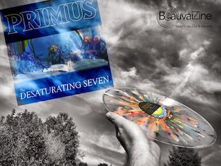 primusville, french review, chronique album, critique rock, seven desaturating