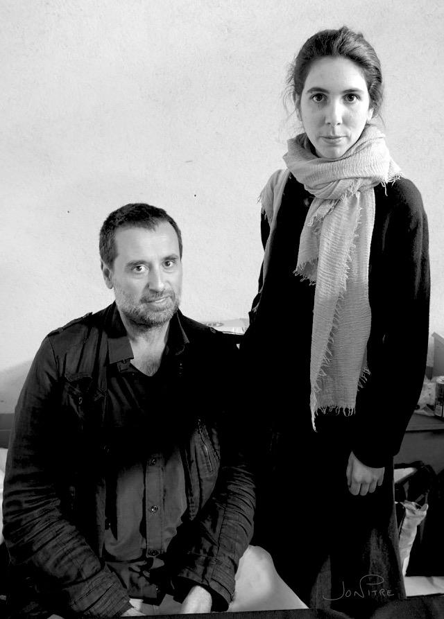Photaumnales 2019 Israel Arino et Clara Gassull coloriste au Quadrilatère de Beauvais ©Jon Pitre-Beauvaizine