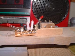 プロペラを回す装置製作中(2013.04.07)