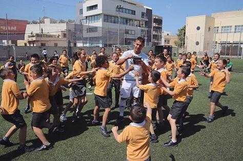 Kinder und Fussball Shows