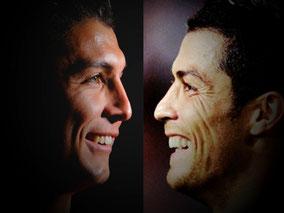 CR7 Cristiano Ronaldo Lookalike Saki