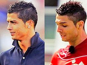 Cristiano Ronaldo Lookalike Saki