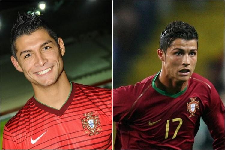Cristiano Ronaldo douplo - Saki - Doppelgänger, Double