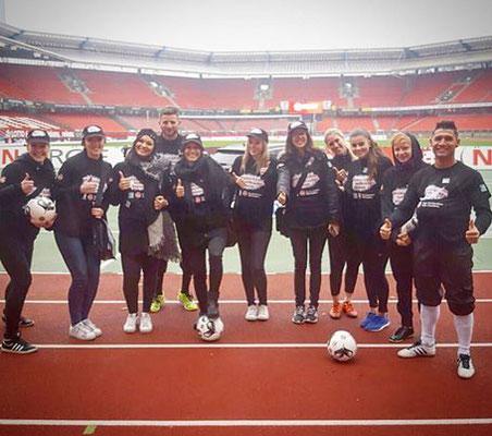 Fußball Freestyler bei PSD Bank Promo