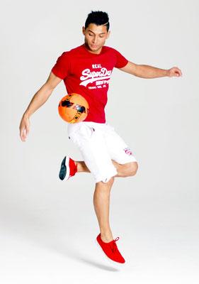 Fotomodel - Fussball Freestyler