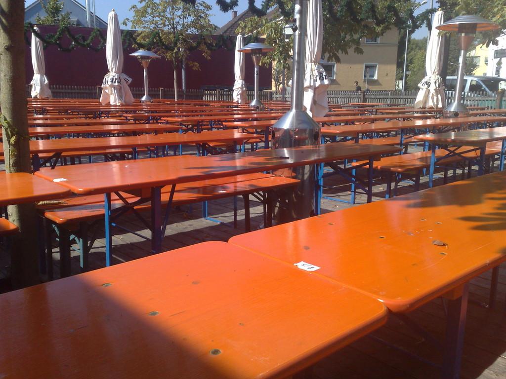 Sitzplätze ohne Ende