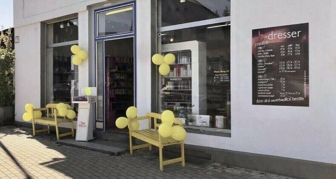 Haarshop Bielefeld Hillegossen Oerlinghauser Str  Lockdown Haarpflege Haarfarbe Haarshop21