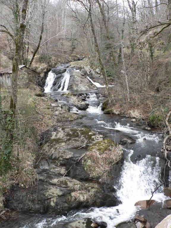 Cascades du Tanaret sur la Brande