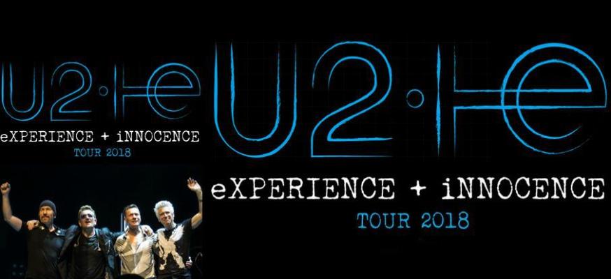 U2: TRE CONCERTI IN ITALIA A OTTOBRE