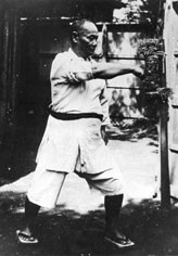 """I still don't know the best way to strike the makiwara."" Choki sensei when he was over the age of 60, from Sayings of Motobu Choki Sensei."
