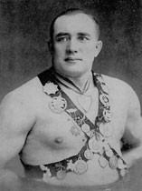 本部朝基が倒した相手と言われるジョン・ケンテル。ロシア人と言われるが、正確にはエストニア人。写真はCharles C. Goodin氏提供。