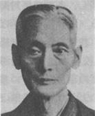 金武良仁(1873-1936)。琉球古典音楽の巨匠。旧首里貴族・金武殿内の当主。本部朝基の友人。