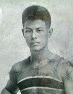 Uehara sensei in the Philippines, age 22
