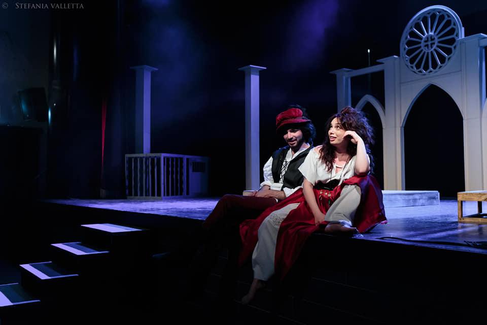 Gringoire ed Esmeralda