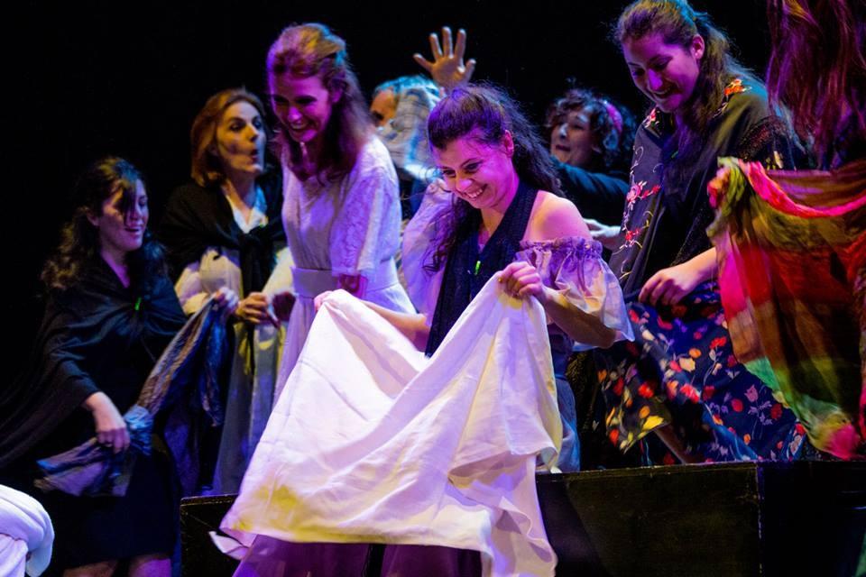 Foto allievi corso di teatro