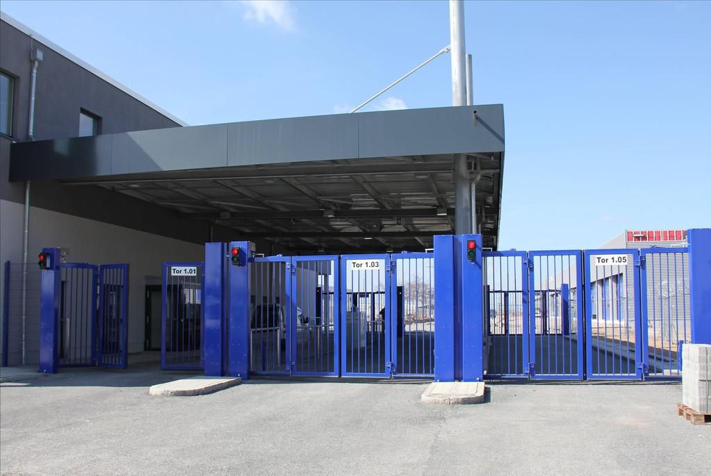 Mit Kontrollpunkten an Flughäfen haben wir große Erfahrungen.
