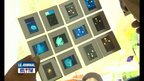 Photos traitées par la NASA de l'OVNI tenu par le présumé témoin Patrick M.