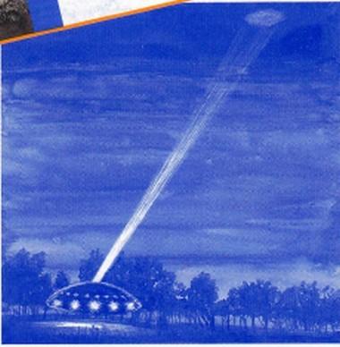 Reconstitution du faux laser et vrai OVNI