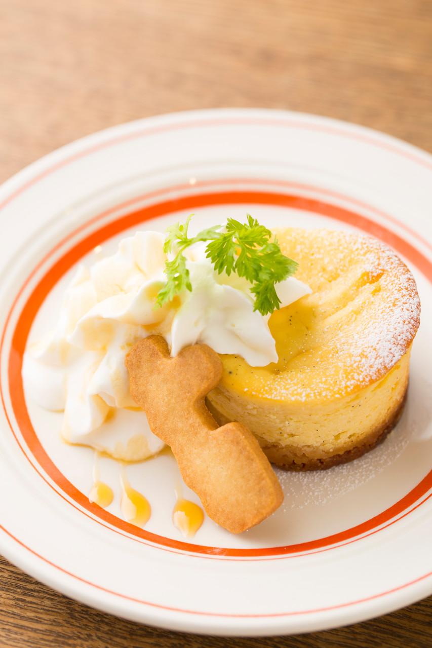 バニラチーズケーキ!! 贅沢にバニラビーンズをふんだんに使用した クセになりそな 安心の味!!
