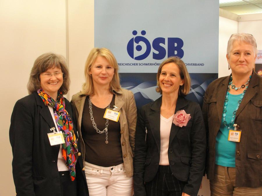 Mag. Brigitte Slamanig, Andrea Mayr, Ulrike Rülicke, Brigitte Adelwöhrer