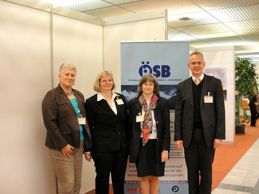 Brigitte Adelwöhrer, Renate Welter, Mag. Brigitte Slamanig, Dr. Dirk Kuntscher