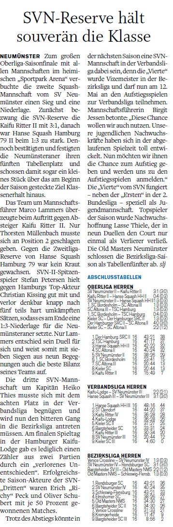 Holsteinischer Courier 30.03.2012