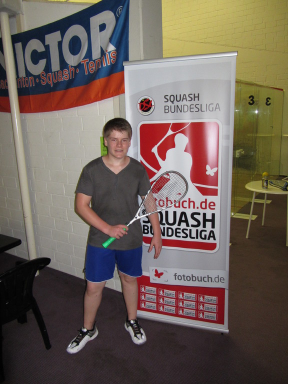 Großes Ziel im Blick: Die Squash-Bundesliga!