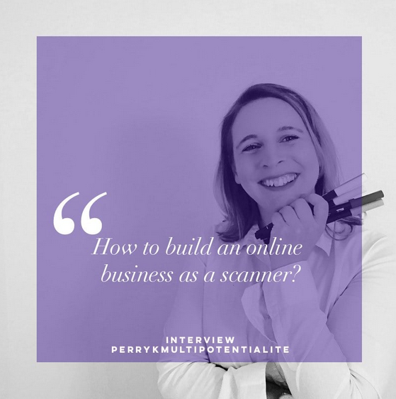 How to build an online business as a scanner
