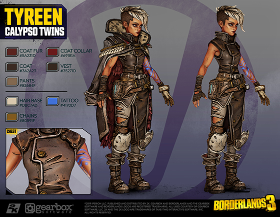 Calypso Twin Cosplay Guides Now Available Borderlandsapps