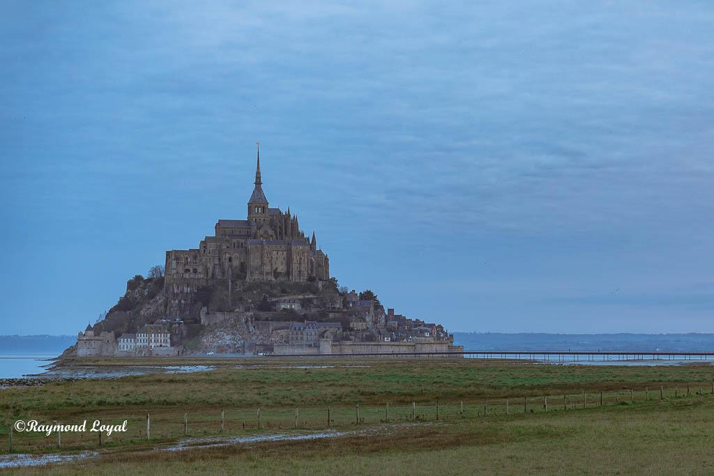 mont saint-michel foto