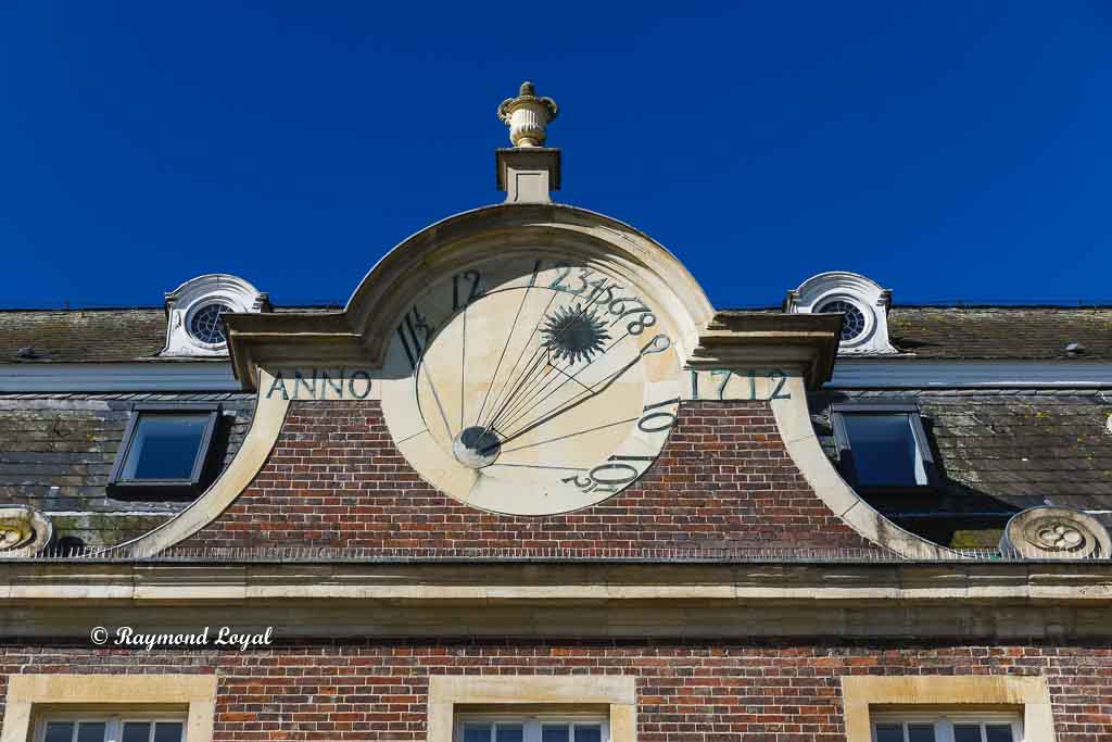 nordkirchen palace servants wing sundial