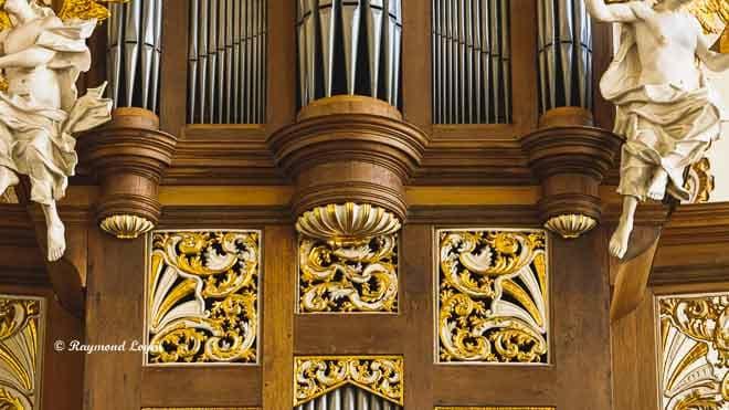 schlosskirche bruehl orgelprospekt