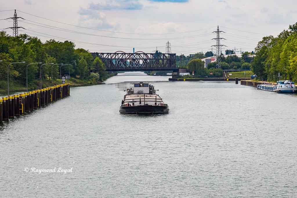 rhein herne canal gelsenkirchen locks