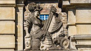lembeck castle baroque gate
