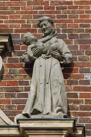 schloss nordkirchen kapellenfluegel skulptur antonius von padua
