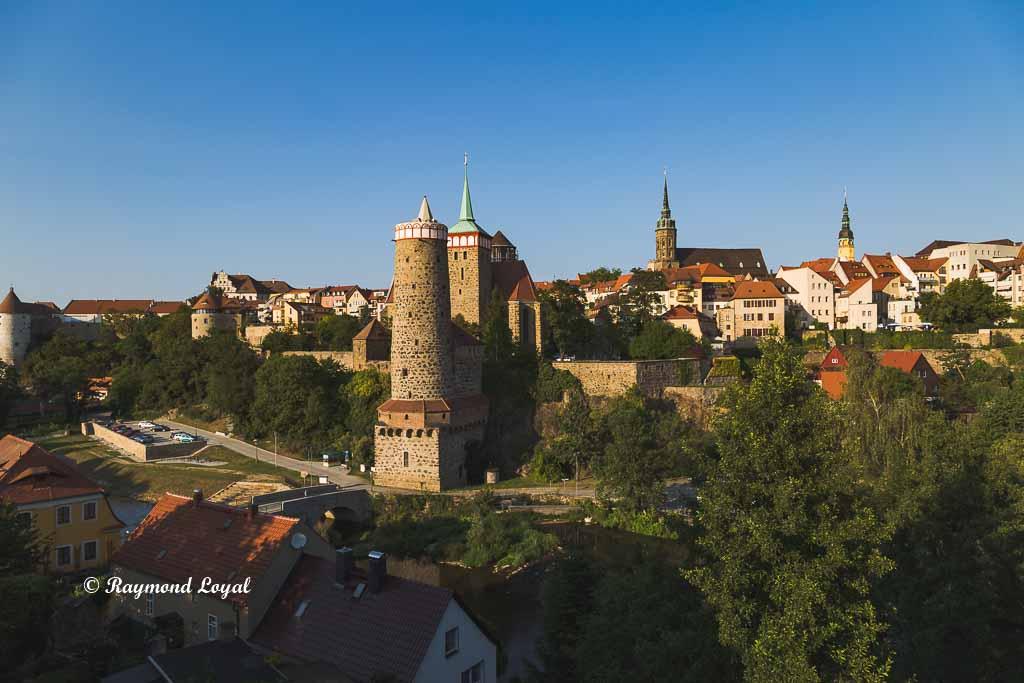 bautzen sachsen mittelalterliche stadt