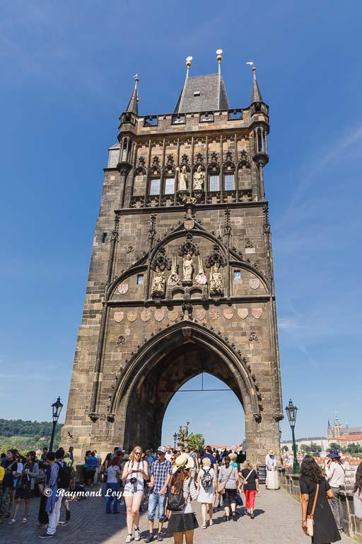 prague charles bridge tower