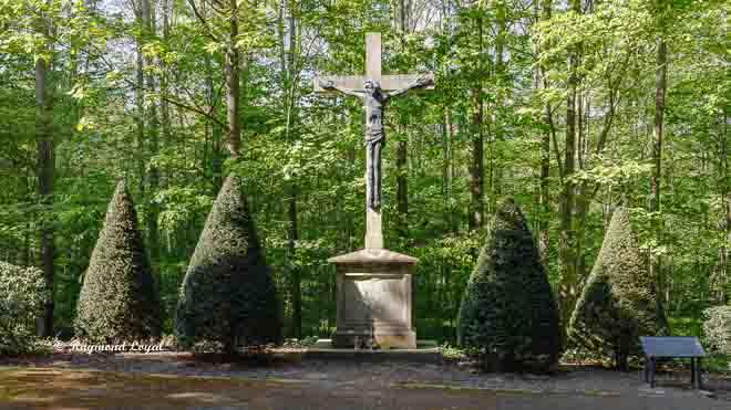 schloss nordkirchen steinkreuz ostgarten