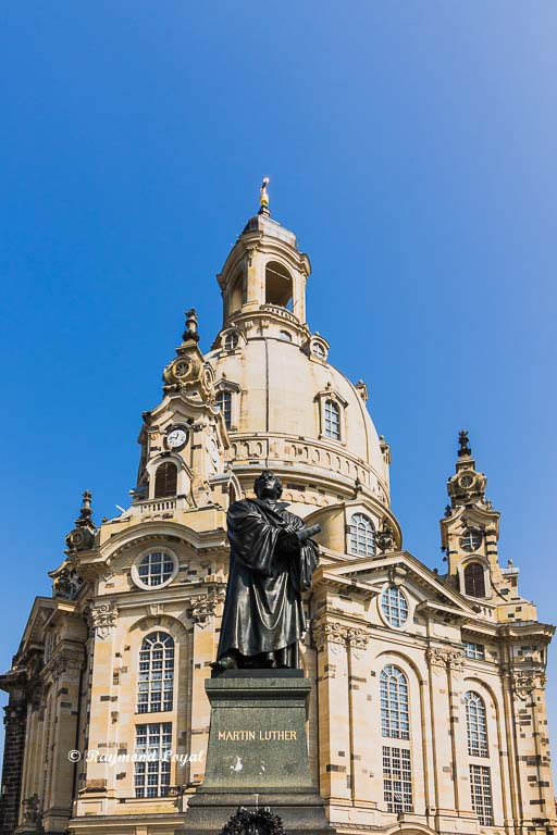 dresden frauenkirche martin luther denkmal
