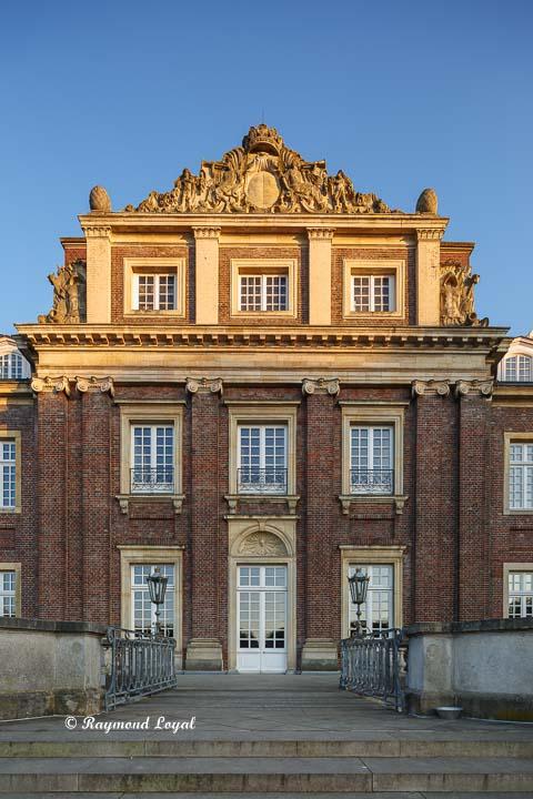 nordkirchen palace medium risalit north facade