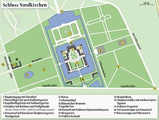 map schloss nordkirchen