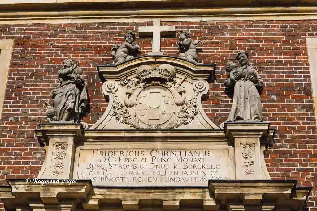 nordkirchen palace chapel wing
