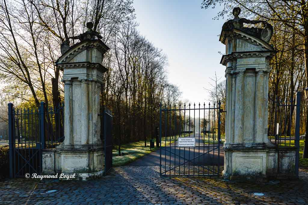 nordkirchen palace northern gate