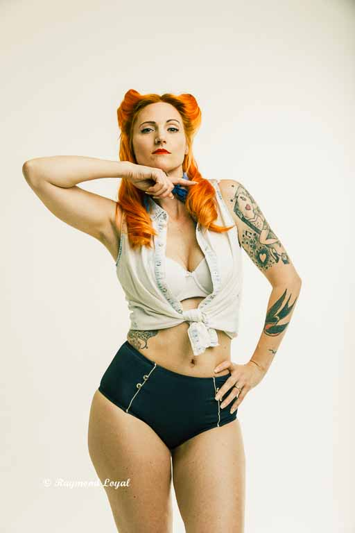 pinup photography raymond loyal