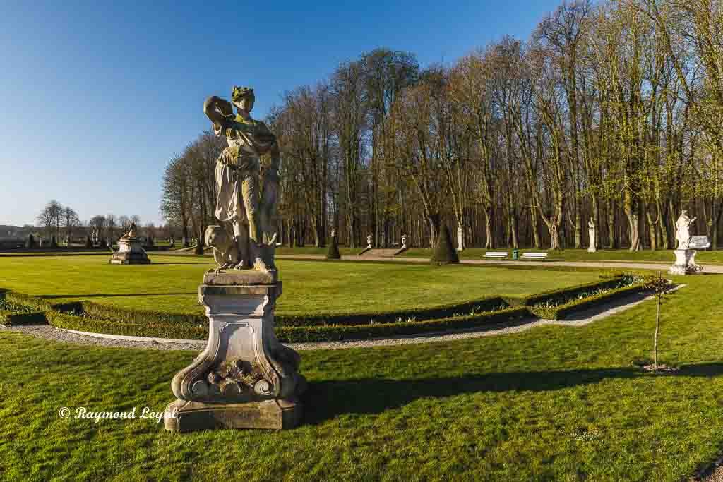 nordkirchen palace parterre garden venus island