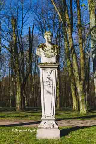 schloss nordkirchen skulptur wandelgang