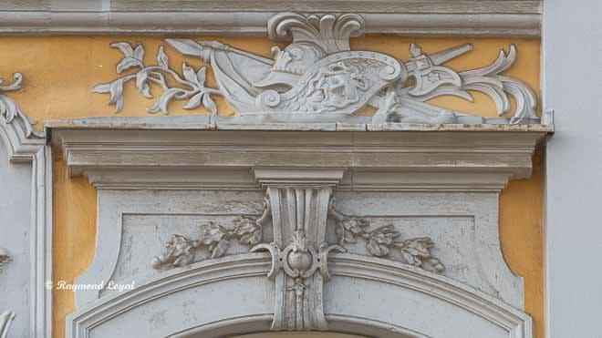 schloss augustusburg balkon risalit ornament