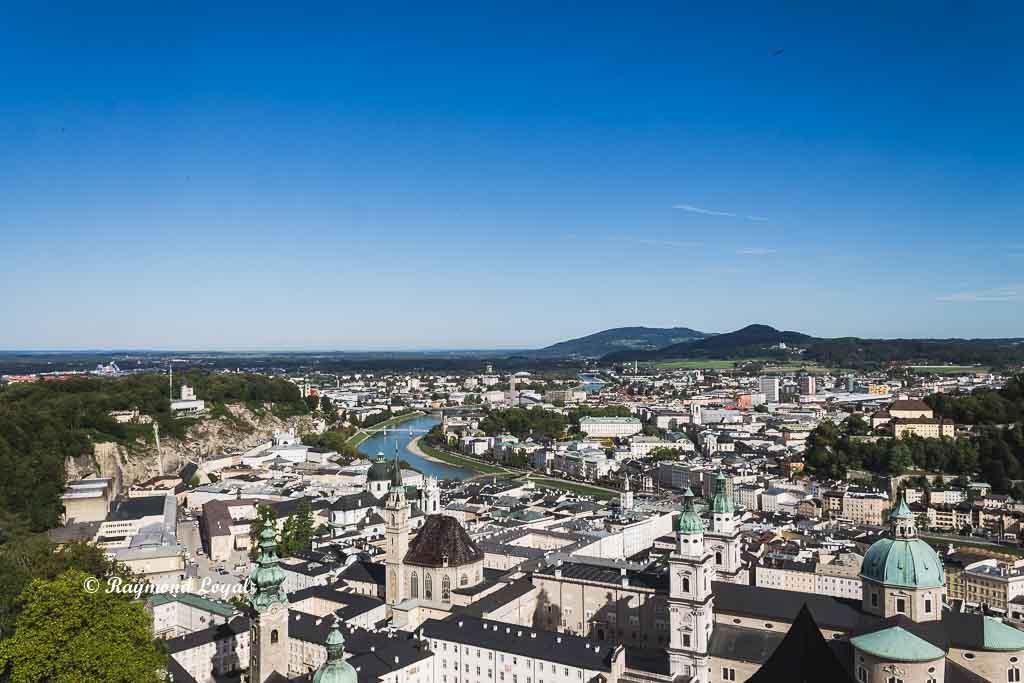 salzburg aerial view luftbild