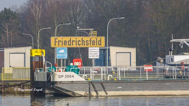 wesel-datteln-kanal schleusengruppe friedrichsfeld