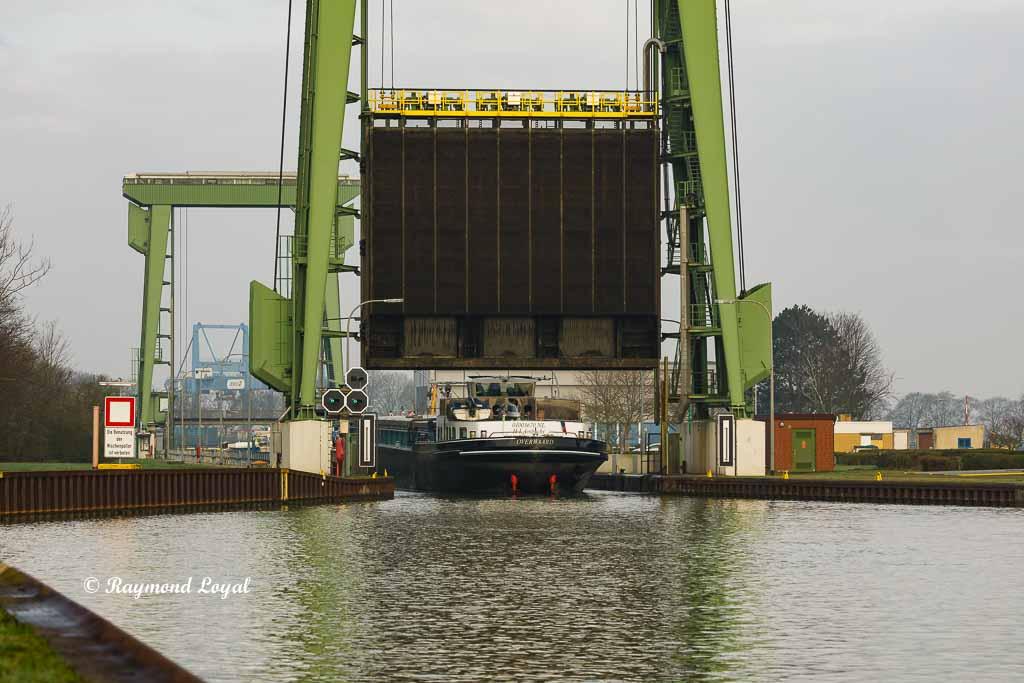 friedrichsfeld locks wesel datteln canal